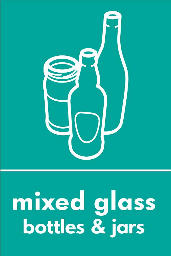 Recycle Glass Symbol Recycle Glass Symbol Recycle