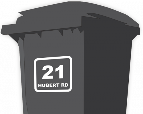 Bin Address Label / House Name