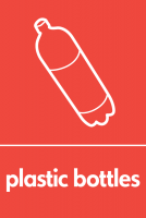 Recycling Sticker - Plastic Bottles (WRAP Compliant)