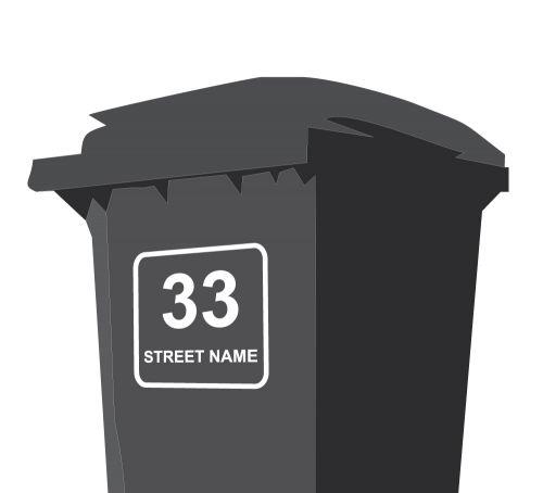 Bin Address Label / House Name