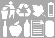 Recycling Symbols - A4 Sheet