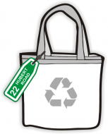 Recycling Bag Labels - Plastic Tag